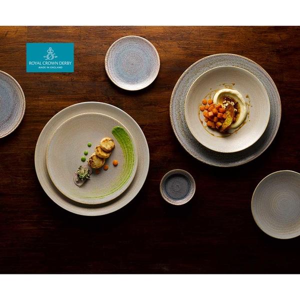 英國Royal Crown Derby-Art Glaze藝術彩釉系列-25.5CM餐盤-黛紫