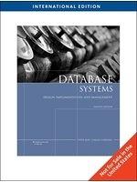 二手書博民逛書店 《ISE Database Systems: Design,Implementation, Management 8E》 R2Y ISBN:1423902033│PeterRob