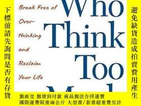 二手書博民逛書店Women罕見Who Think Too MuchY256260 Susan Nolen-hoeksema P