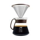 [JIE] 繽紛咖啡濾杯組 - 咖啡、果綠、桃紅 (212GP)