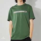 Adidas TH TEE REF BAR 男 墨綠 運動 休閒 短袖 GP1002
