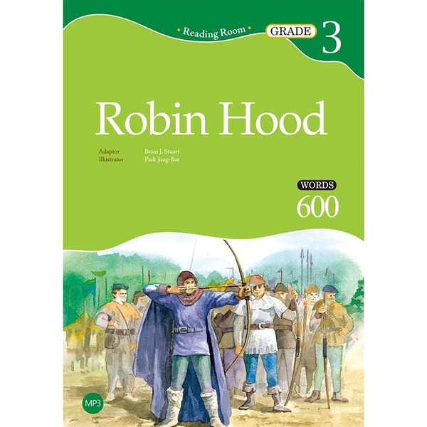 Robin Hood【Grade 3】(2nd Ed.)(25K經典文學改寫讀本