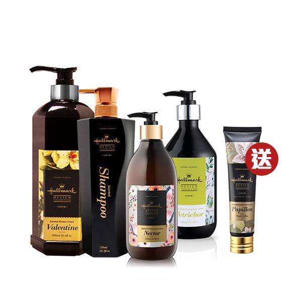 Hallmark合瑪克 怪獸週年慶 香氛超值潤膚組【BG Shop】洗髮/沐浴/身體乳(需自行選購4件)