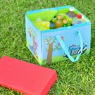 【ikloo】樂活可提式收納野餐墊/玩具墊