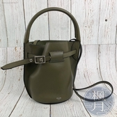 BRAND楓月 CELINE 軍綠色 新版 NANO BUCKET 小款 籃子包 水桶包 斜背包