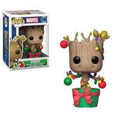 【 Funko 】 POP!系列 Q版公仔 MARVEL 復仇者聯盟:聖誕節-格魯特╭★ JOYBUS玩具百貨
