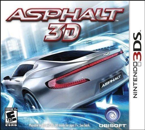 3DS Asphalt 3D 狂飆極速 3D:噴射競速(美版代購)