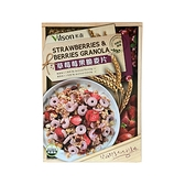 【米森 vilson】有機草莓莓果脆麥片 (350g/盒)
