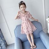 女童雪紡裙 夏裝2020新款兒童夏季雪紡童裝裙子女孩網紅洋氣公主裙