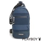 PLAYBOY- 單肩背包 Cool play系列-藍色