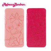 【Rebecca Bonbon】HTC  Butterfly S 甜心手繪風時尚壓紋皮套