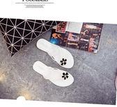 2018新款女鞋夏季涼鞋百搭夾腳韓國平底花朵果凍涼拖鞋學生韓版潮 普斯達旗艦店