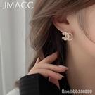 耳環 高級感小香風耳釘女韓國簡約氣質珍珠耳環年新款潮純銀針耳飾 星河光年