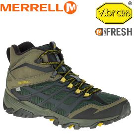 【MERRELL 美國 男款 防水MOAB FST ICE+THERMO 橄欖綠】ML35789/越野鞋/休閒鞋/登山鞋/運動鞋/健行