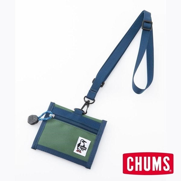 CHUMS Eco ID Card Holder 證件帶 森林綠 CH602488M021【GO WILD】
