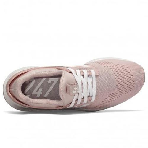【現貨】NEW BALANCE 247 女鞋 慢跑 休閒 復古 襪套 網布 透氣 粉【運動世界】WS247UI
