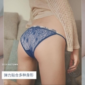 3條裝超薄透視丁字褲蕾絲性感內褲女純棉襠低腰火辣誘惑【小酒窩服飾】