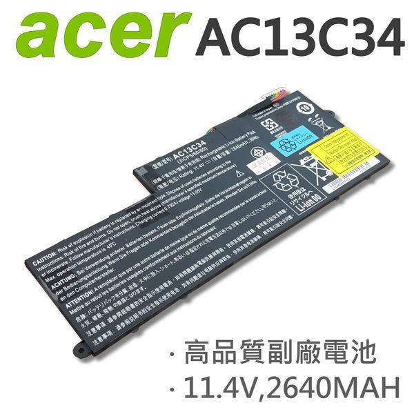 ACER 宏碁 AC13C34 3芯 日系電芯 電池 AC13C34 31CP5/60/80 E-11 E3-111 V-11 V3-111 V3-112 V5-122P V5-132