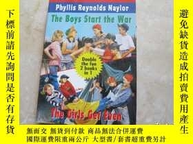 二手書博民逛書店THE罕見BOYS START THE WAR THE GIRL