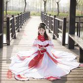 錦鯉抄古裝cosplay女服裝水袖舞蹈服演出服飄逸