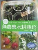 【書寶二手書T7/園藝_QNS】無農藥水耕栽培-在家就能收成的39種健康蔬菜_河村子