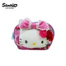 【正版授權】凱蒂貓 和服系列 立體 收納包 化妝包 零錢包 Hello Kitty 三麗鷗 Sanrio - 129304