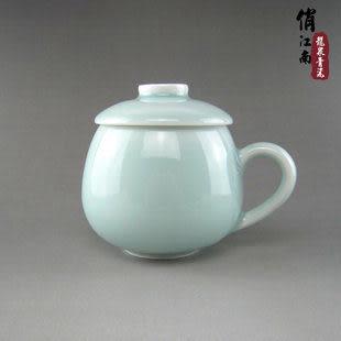 龍泉青瓷杯子