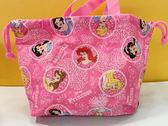 【震撼精品百貨】公主 系列Princess~迪士尼公主系列縮口袋-綜合公主桃粉#13846