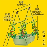 爬藤架 長方形花盆支架園藝支架葡萄架子室外盆栽支架花盆支架LX 雙12