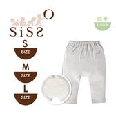 【SISSO有機棉】嬰兒彈性屁屁褲(竹炭灰) S M L