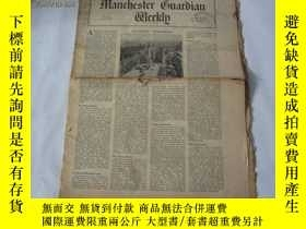 二手書博民逛書店外文原版報紙罕見THE MANCHESTER GUARDIAN WEEKLY 1948年5月27日 第22期 共1