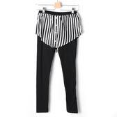 【Dailo】假兩件內搭褲裙-黑 10601
