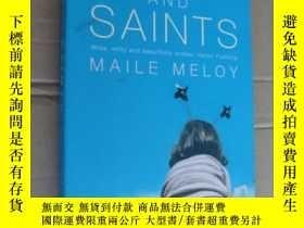 二手書博民逛書店Maile罕見Meloy:Liars and Saints 英文