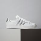 Adidas Coast Star W 女款 白銀 經典 復古 百搭 皮革 舒適 休閒鞋 EE6521