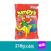 澳洲Jumpy,s3D袋鼠洋芋片歡樂包-綜合口味(218gx6包)-箱購