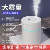 加濕器小型家用靜音臥室孕婦嬰兒空調房空氣凈化宿舍大霧量香薰 快速出貨