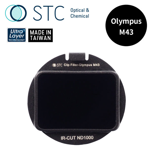 【STC】Clip Filter ND1000 內置型減光鏡 for Olympus M43
