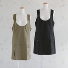 (M碼出清價)日本孕婦裙-吊帶連身裙/孕婦裙/孕婦裝/背心裙(寬鬆)(M碼)【BA0004】