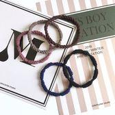 [協貿國際]扎頭品橡皮筋髮圈簡約基礎髮繩頭繩皮套頭飾1入