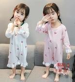 兒童睡衣組 女童睡衣薄款寶寶兒童 連體衣夏天女孩家居服小童夏季 OB5525
