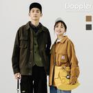 工裝外套 日系多口袋工裝翻領外套 夾克【TJGPDY441】現貨+預購