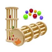 【北投之家】滾珠小球塔 木製玩具 日本製 | Woody Puddy (嬰幼兒/寶寶/兒童/小孩/小朋友)