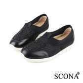 SCONA 樂活輕量舒適休閒鞋 黑色 7239-1