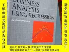 二手書博民逛書店Business罕見Analysis Using Regress
