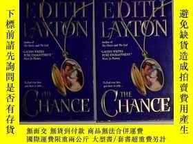 二手書博民逛書店英文原版罕見The Chance by Edith Layton