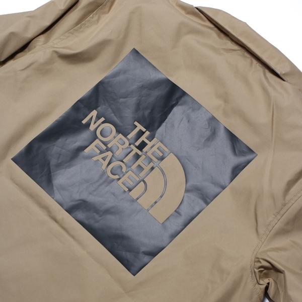 THE NORTH FACE 外套 卡其 教練外套 背後LOGO 休閒 防風外套 男(布魯克林) NF0A4U8WPLX