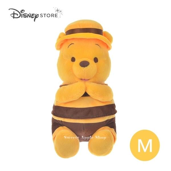 (現貨)日本DISNEY STORE 迪士尼商店限定 小熊維尼 Hunny Funny Sunny 蜜蜂裝 抱枕 / 玩偶 / 娃娃 29cm (M)