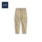 Gap男童柔軟針織襯裏工裝風束口褲491886-卡其色