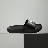 New Balance 黑 LOGO 防潑水 韓國 休閒 涼拖鞋 SD1101HBB