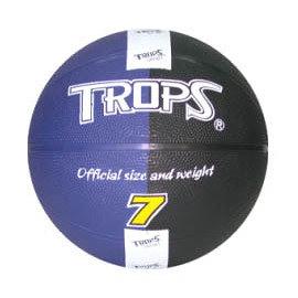 成功 SUCCESS 40172B 雙色刻字籃球 (藍/黑)